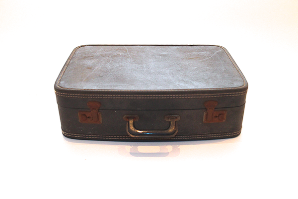 Dark Blue Suitcase