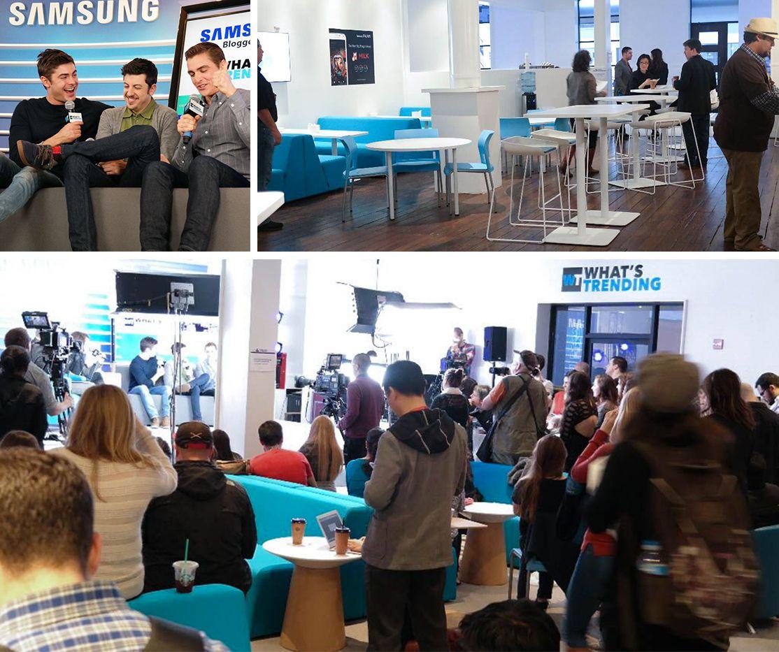 Samsung sxsw event planning