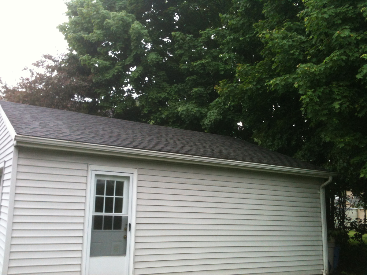 Garage Roof Cleaning