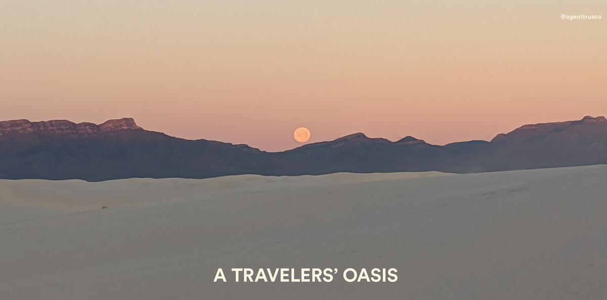 a traveler's oasis