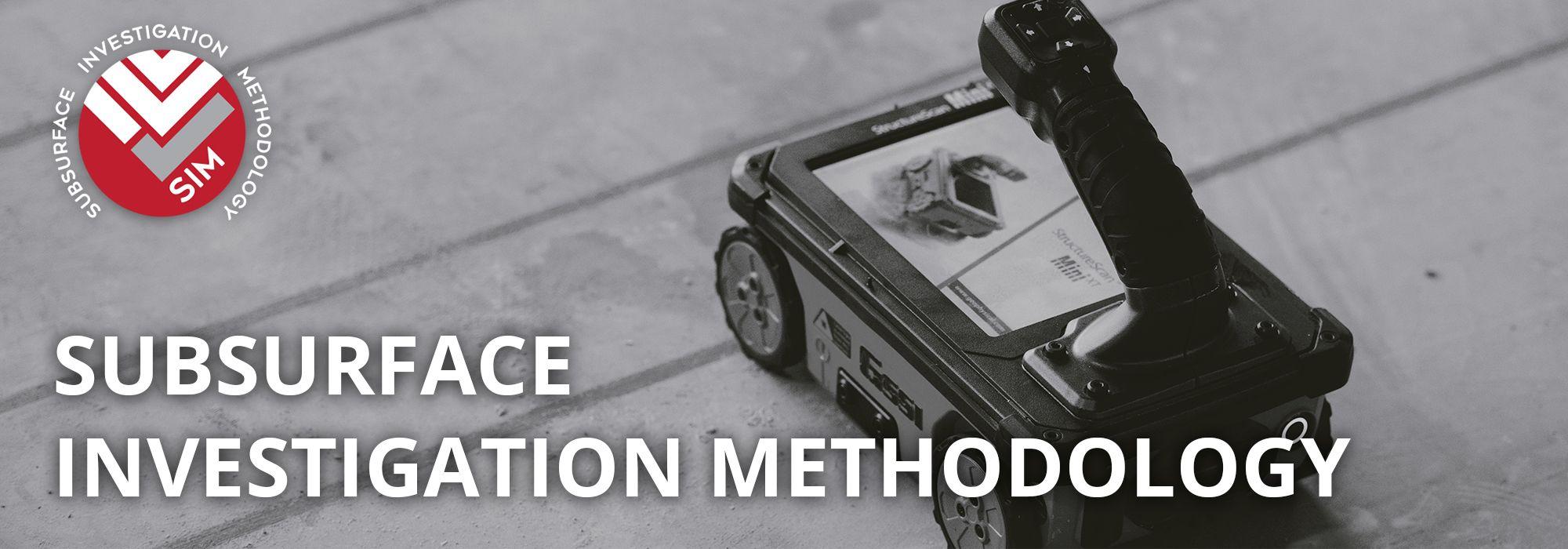 Subsurface Investigation Methodology