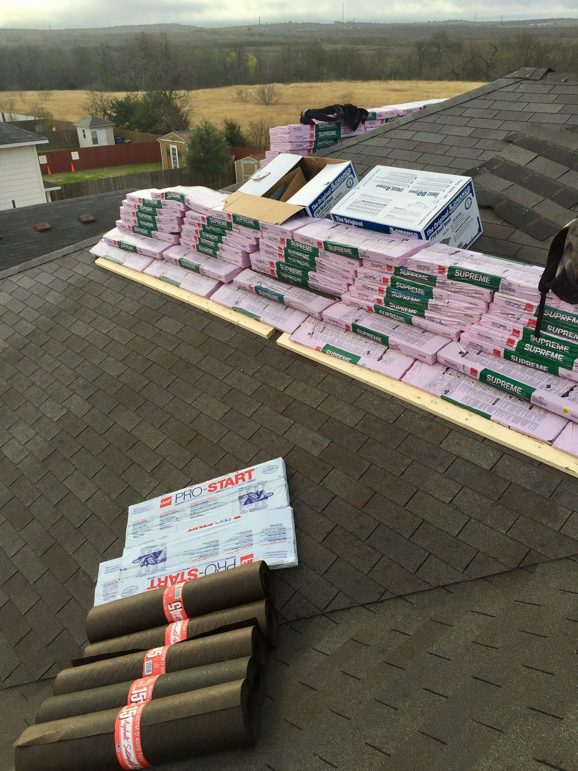 Roof Installation, Kahlo Construction