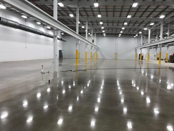 Concrete Floor Polishing - Ground Floor Contractors
