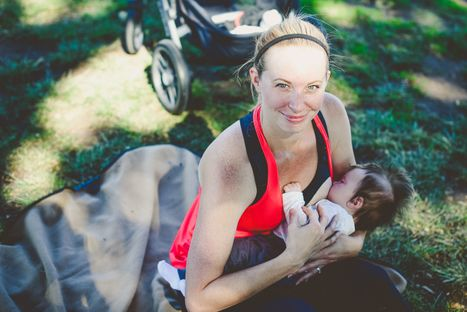 Mom  and Baby Breastfeeding After Workout.jpg