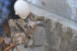 Hand Sawing Concrete Wall   Ohio Concrete Sawing & Drilling Contractor