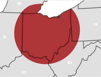 Cleveland Service Area
