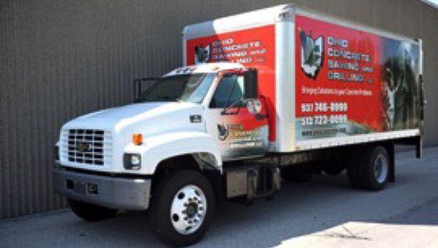 Ohio Concrete Advertising Truck