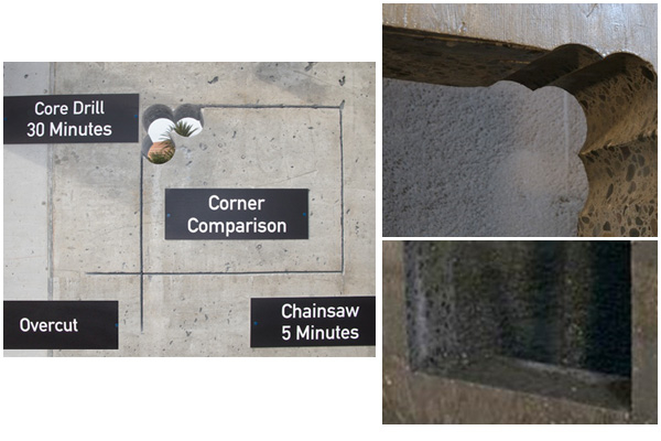 Vertical  Concrete Cutting | Ohio Concrete Sawing & Drilling Contractor