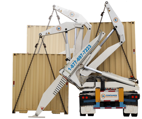 Image of Conex Box Moving Sidelifter Truck