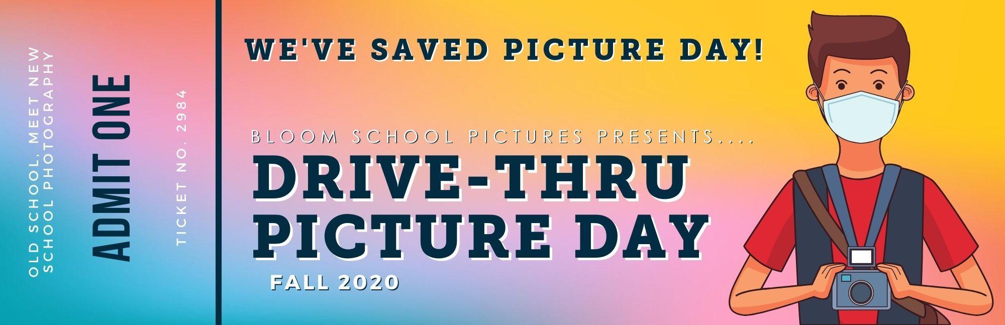 COVID-19 Drive-Thru School Picture Day
