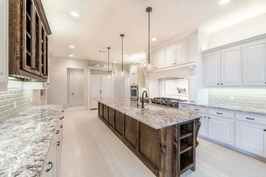Luxury Gourmet Custom Kitchen in North Texas Custom Home