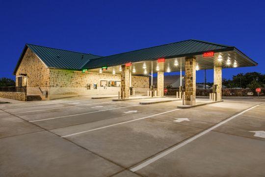 Drive Thru Motor Bank, Construction in Springtown TX