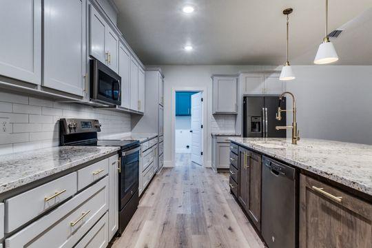 Kitchen Layout in Bridgeport, Texas