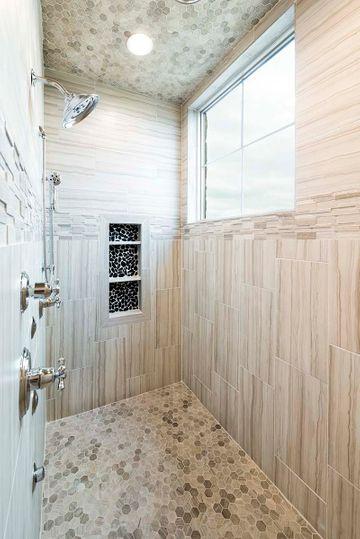 Custom Tile in Luxury Shower