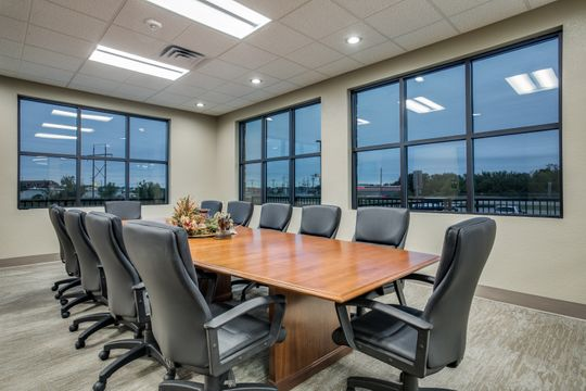 Conference Room in Community Bank, Springtown TX