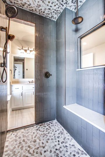 Custom Luxury Shower Construction in North Texas