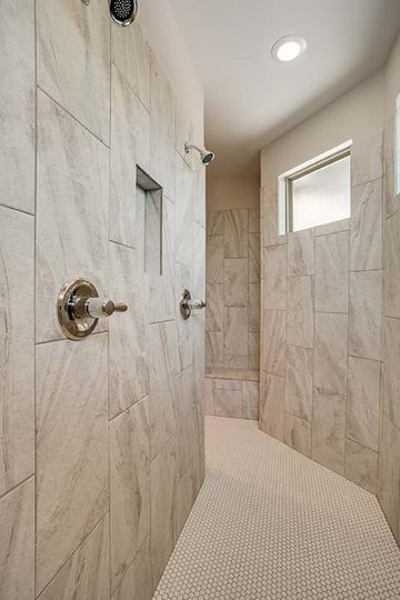 Luxury Bathroom Design and Build in North Central Texas