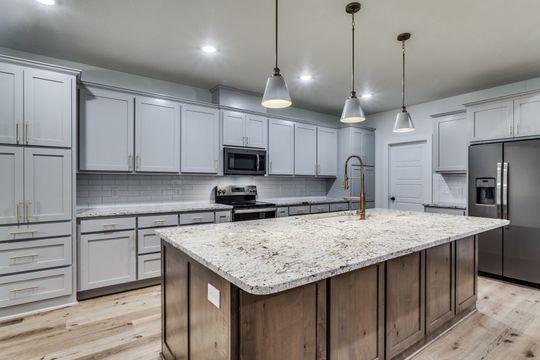 Custom kitchen view in Bridgeport, Texas