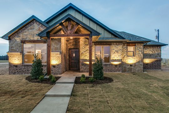 Custom Rustic Ranch Style Home