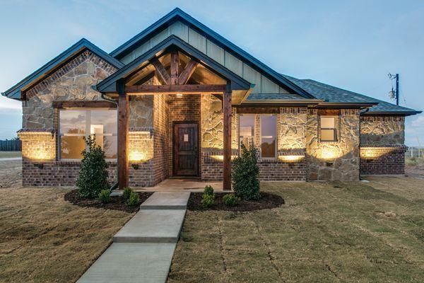 Custom Rustic Ranch Style Home