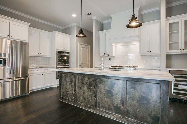 Custom Designed Kitchen in Fort Worth, Texas