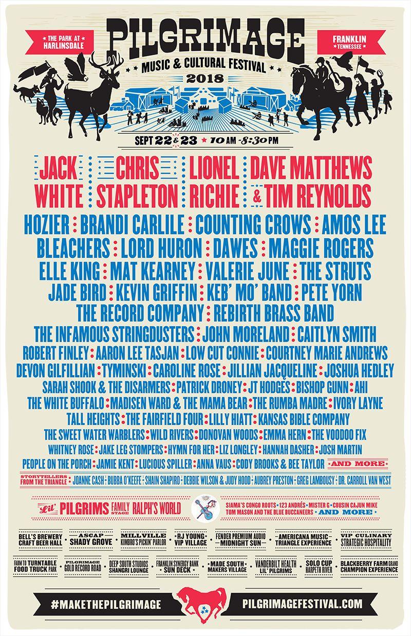 Pilgrimage Festival 2020.Pilgrimage Music Festival 2020 Festival 2020