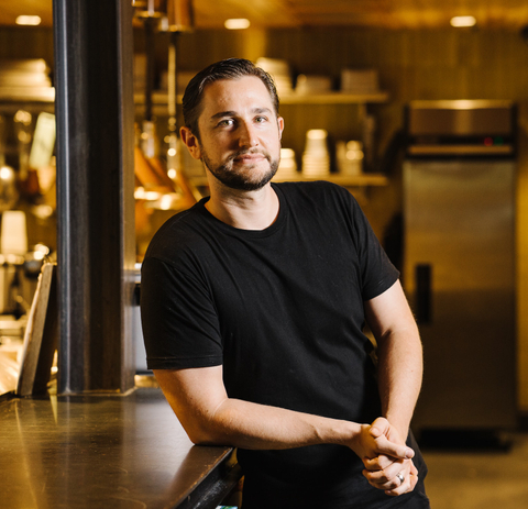 charles schlienger, corporate executive chef at sway thai