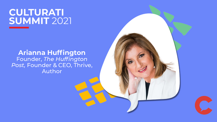 Arianna Huffington on the mental health of corporate America - Culturati