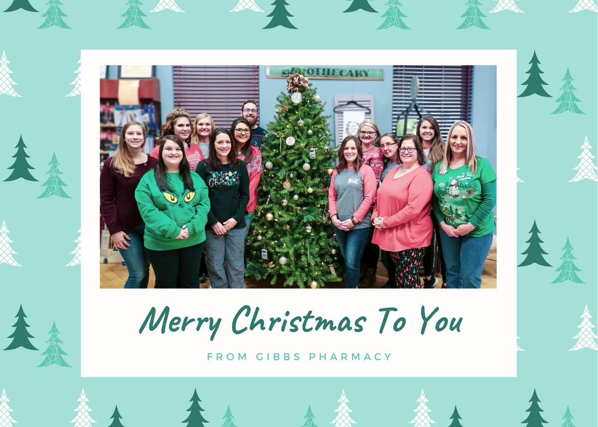 Teal and Green Christmas Trees Decorative Card (1).png