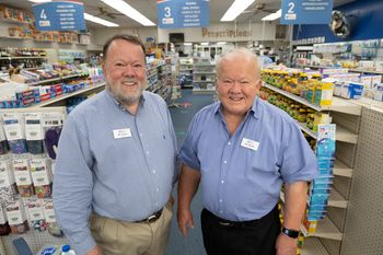Bill &  Tom Thorne, 2nd generation owners and residents of Edgecombe County
