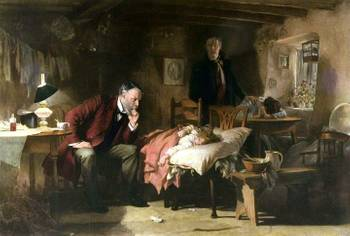 The Doctor (1891) by Luke Fildes