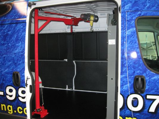 Commercial Van Accessories and Upfitting Houston