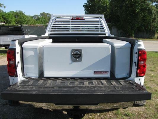 Custom Truck Bed Tool Boxes in Houston, Texas