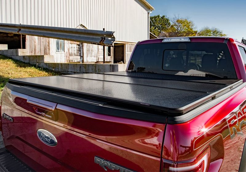 Rugged Liner Premium Hard Folding Truck Bed Cover Houston Truck Beds Tms Truck Van