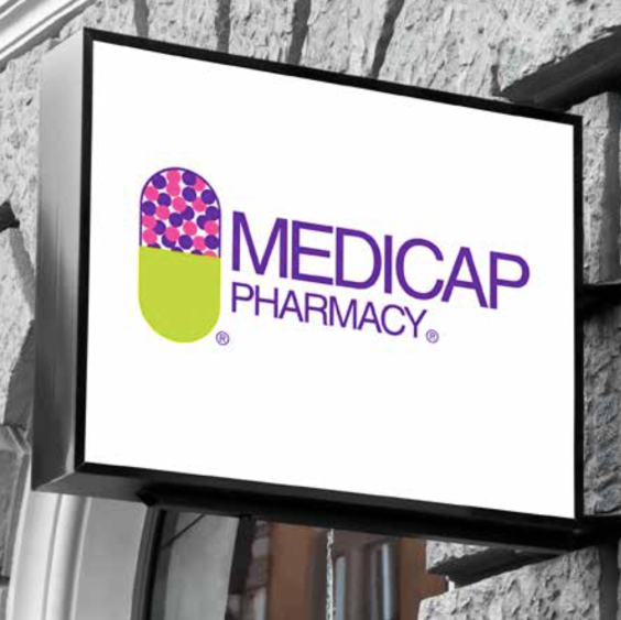 Medicap Pharmacy Store Sign