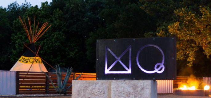 Mystic Quarry Entrance Sign