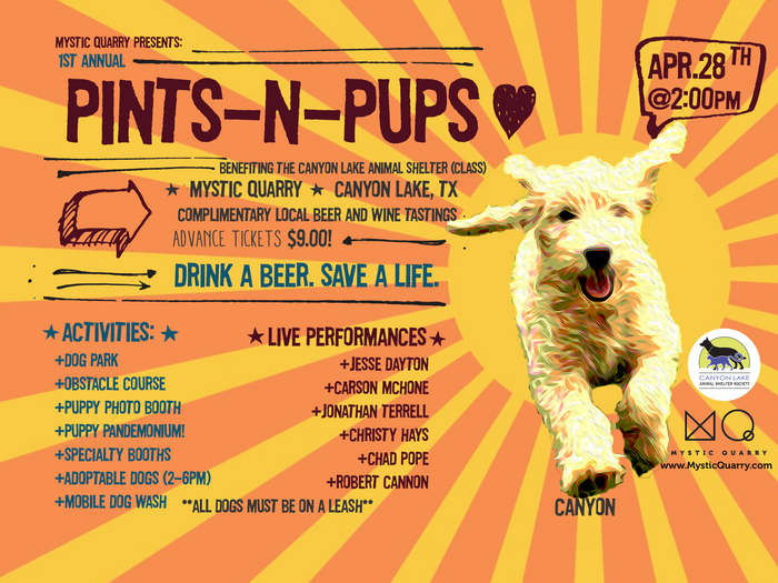 Craft Beer Festival Benefiting Canyon Lake Animal Shelter Society