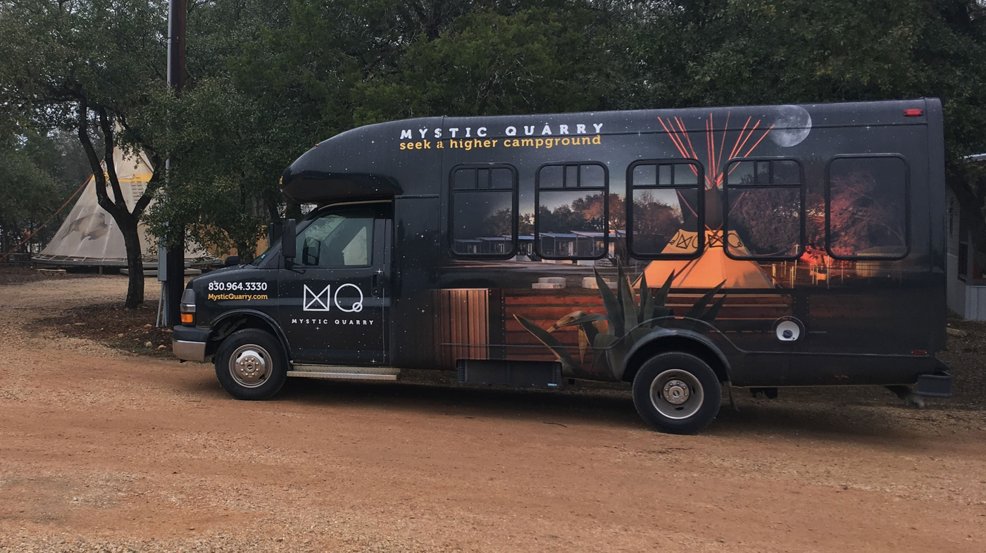 Mystic Quarry Shuttle to Guadalupe River Tubing