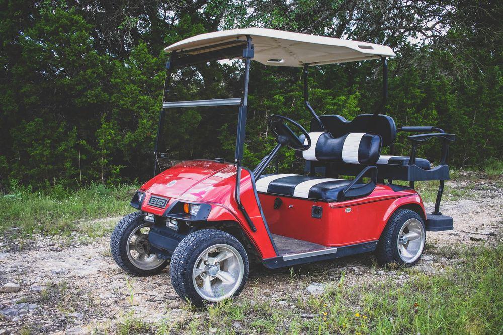 Firetruck Golf Cart
