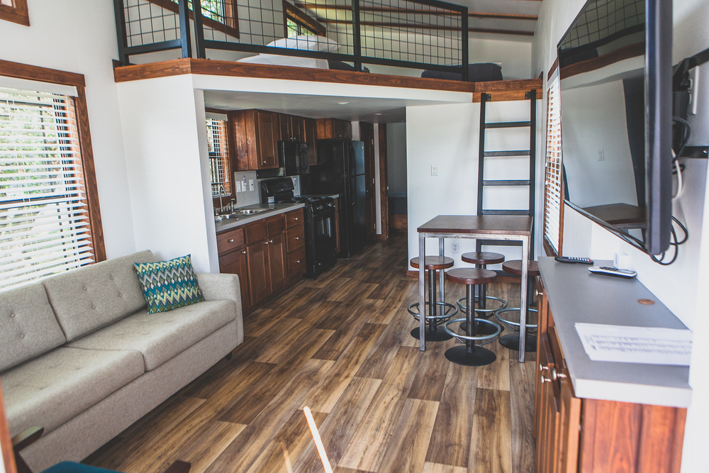 Tiny House Rustic Industrial