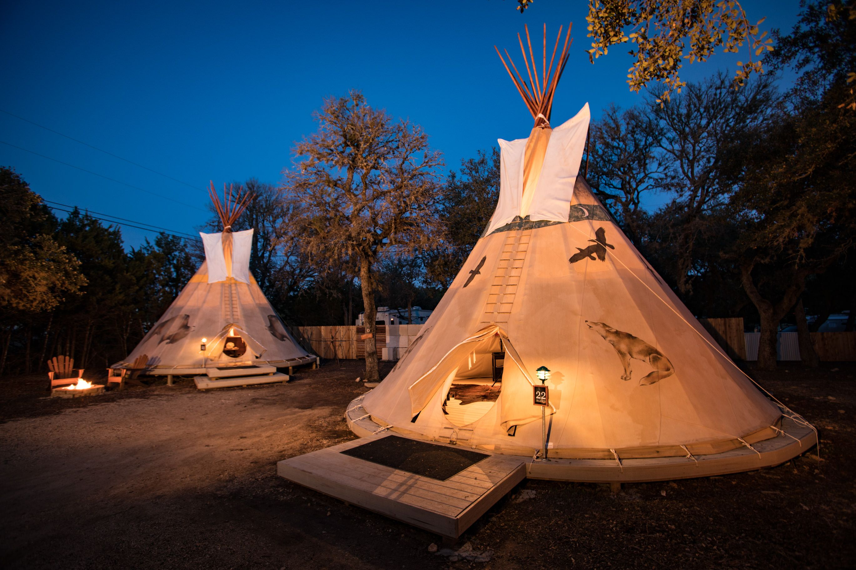guadalupe river glamping