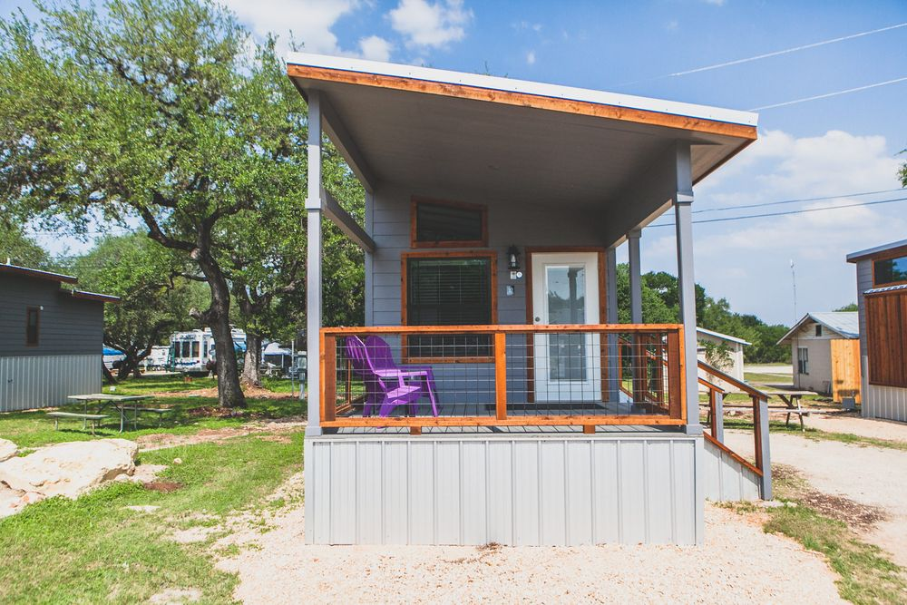 Contemporary Tiny House Vacation Rental