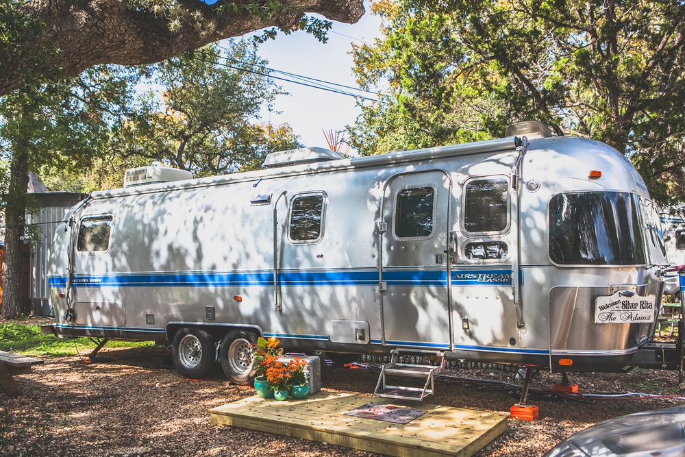 Airstream at Mystic Quarry RV Park