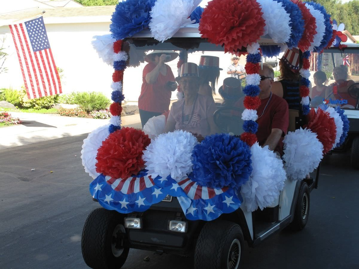 Golf Cart Decoration