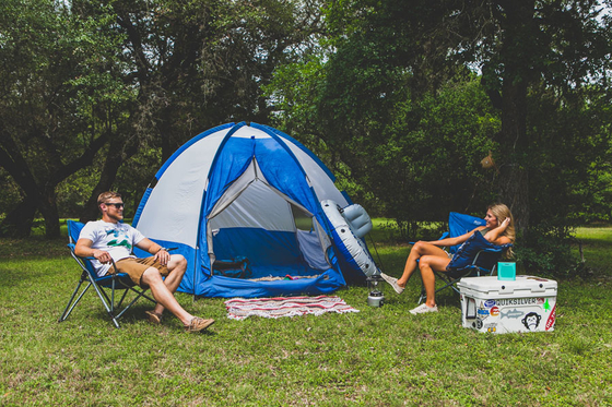 Tent Camping on the Guadalupe River