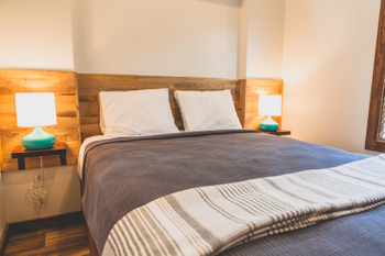 Tiny House Modern Rustic Bedroom