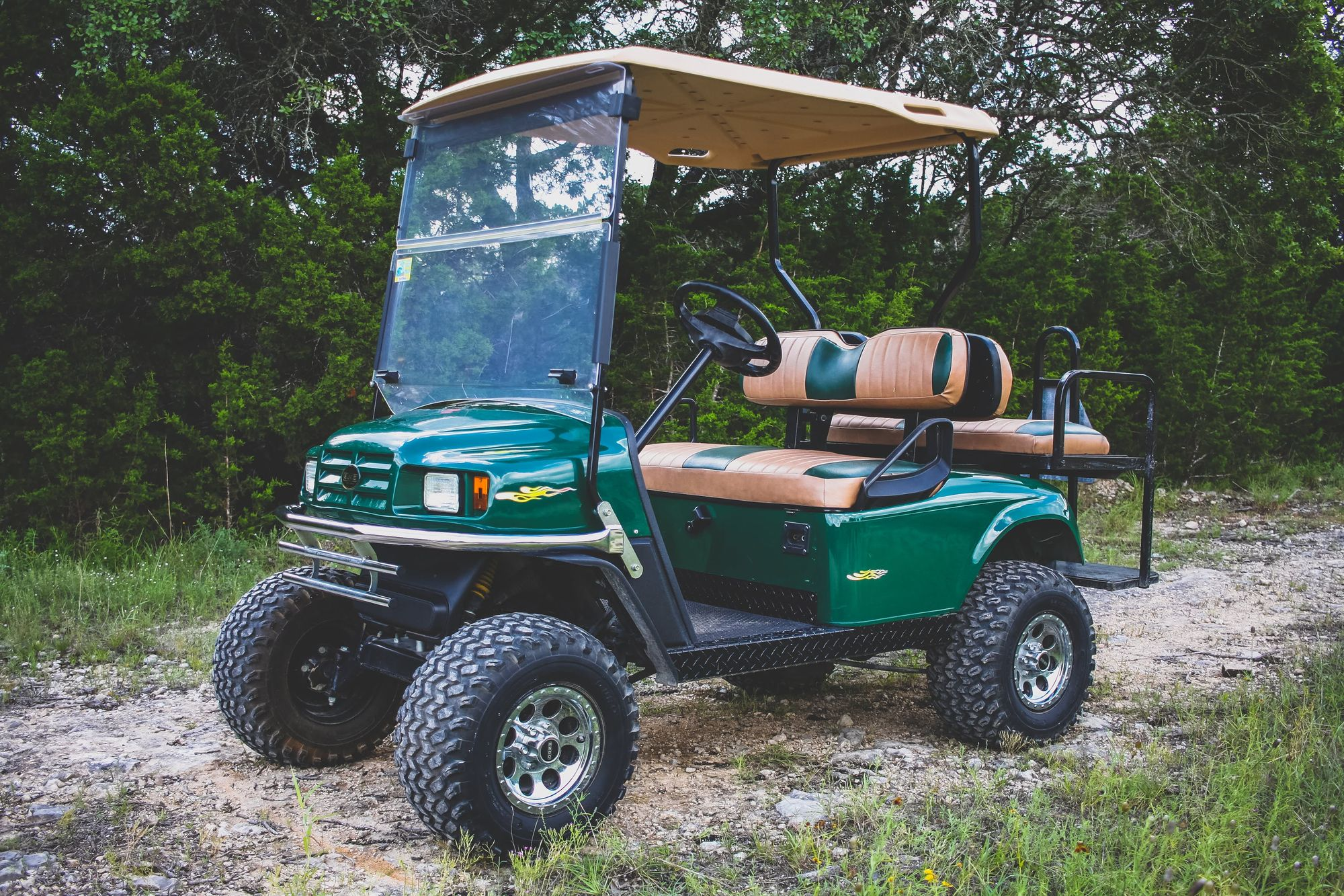 Green Machine Golf Cart