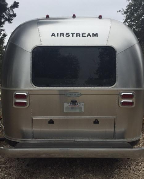 Airstream RV Camping Canyon Lake