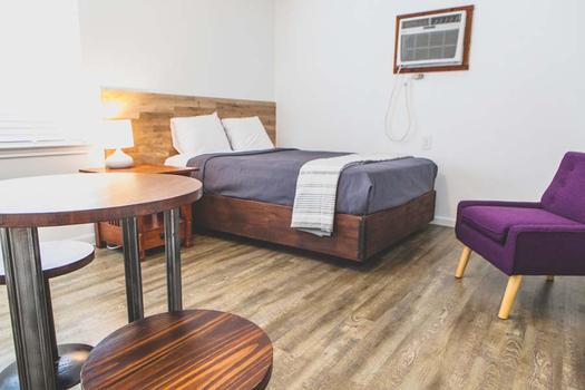New Braunfels Cabin Bedroom