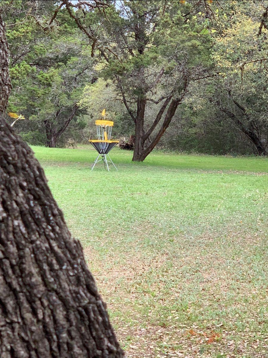 Frisbee Golf Hole 1